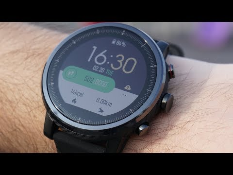 Xiaomi Amazfit 2 Review - Huami Smartwatch Stratos - GPS - Sports - Unboxing