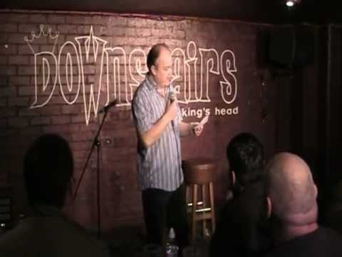 Mick Chaney downstairs At The King's Head  22 November 2012 (Stand Up Comedy)
