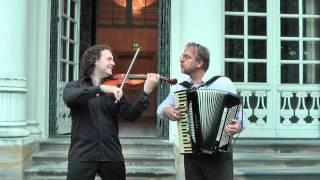 Johannes Brahms: Ungarischer Tanz Nr. 5 (gespielt auf Geige und Akkordeon)