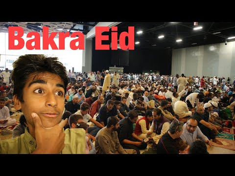 Bakra Eid In Canada (Urdu Vlog) Happy Birthday Taha