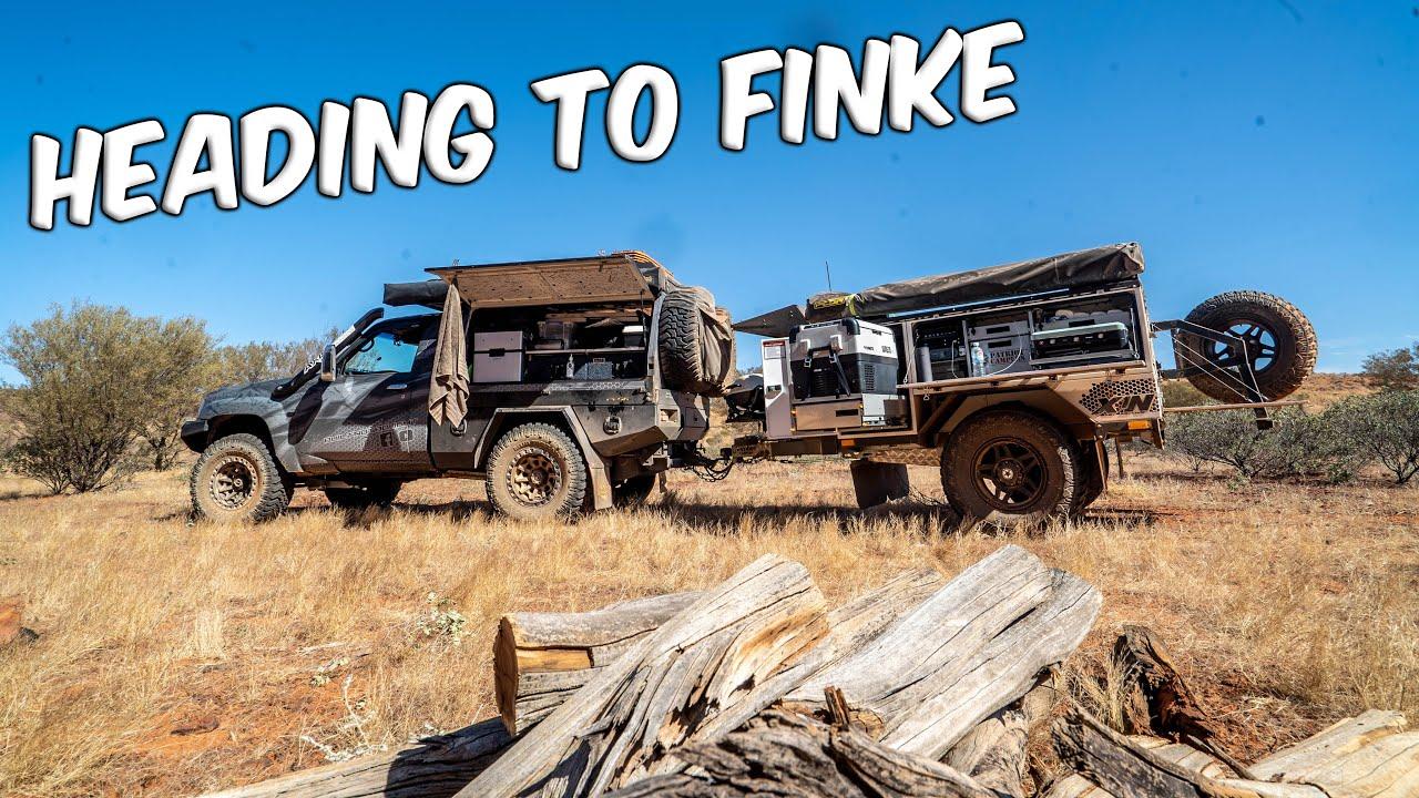 In Alice Springs For The Finke Desert Race!!!