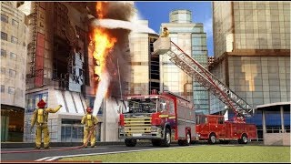 City Firefighter Truck Driving Rescue Simulator 3D | Android GamePlay 2020 screenshot 4