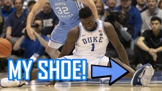 The Zion Williamson Nike BLOWOUT - YouTube