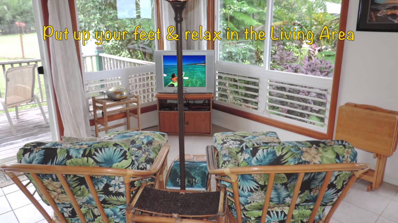 Beautiful Kauai North Shore Cottage in the Forest Vacation ...