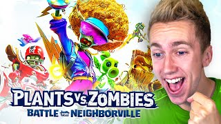 *NEW* PLANTS VS ZOMBIES: BATTLE FOR NEIGHBORVILLE #PvZBfN