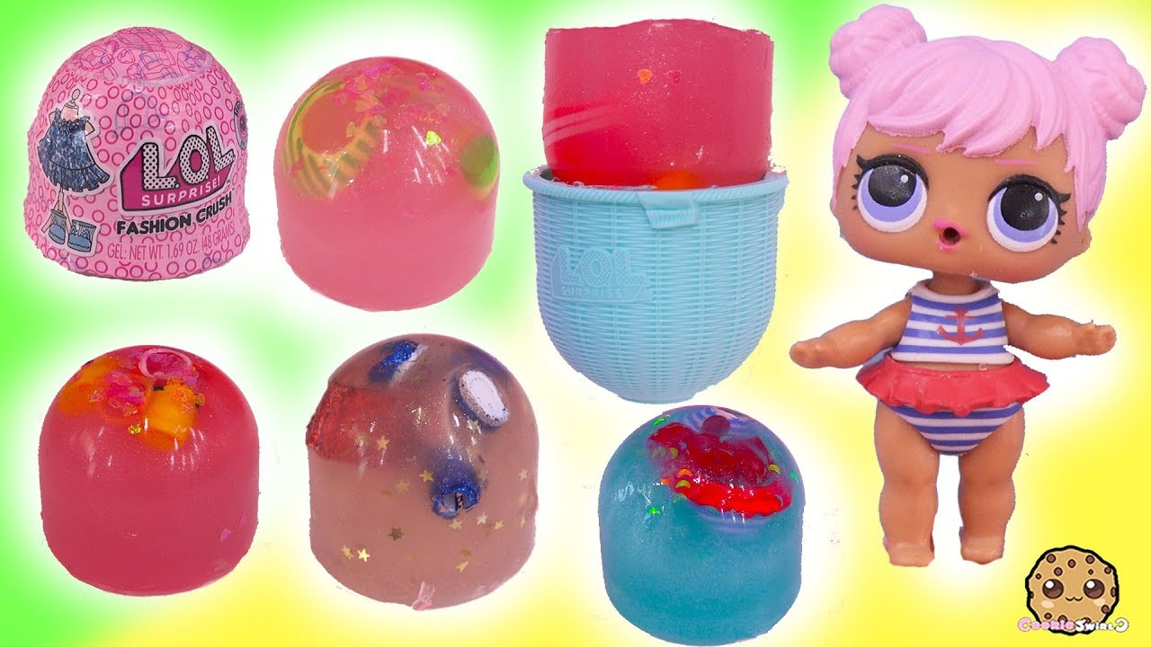 Jelly Layer Lol Surprise Outfits Fashion Crush Blind Bag