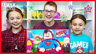 THE LEGO MOVIE 2 Trailer 2 Reaction | d-three KIDS React to THE LEGO MOVIE 2