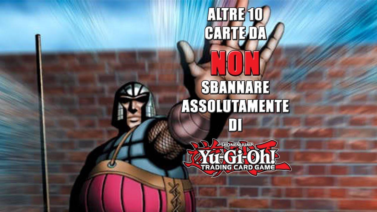 Altre 10 carte di Yu-Gi-Oh! TROPPO FORTI per essere SBANNATE