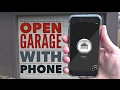 GarageMate Review: Open Garage with Phone!