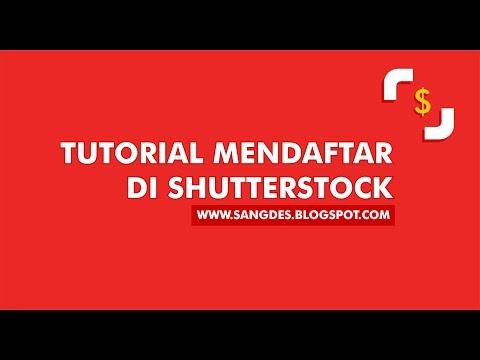 Tutorial mendaftar di Shutterstock #1- TERBARU 2016