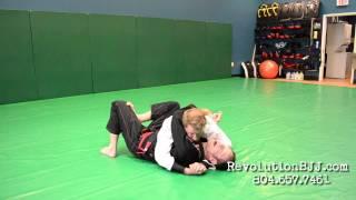BJJ technique:  Alternative defensive posture for escaping side control