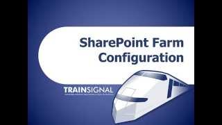 Sharepoint farm configuration