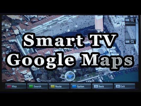 Smart TV Google Maps