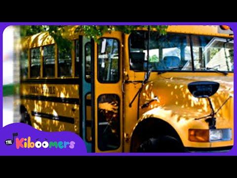 Wheels On The Bus | School Bus Song | Nursery Rhymes | Kids Songs | The Kiboomers