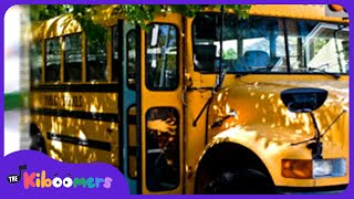 Wheels On The Bus | School Bus Song | Nursery Rhymes | Kids Songs | The Kiboomers