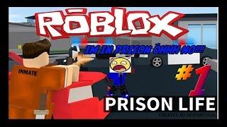 IM IN PRISON OHH NOO!!! Roblox: Prioson Life #1