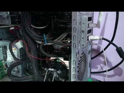 Cooler servidor HP cobre