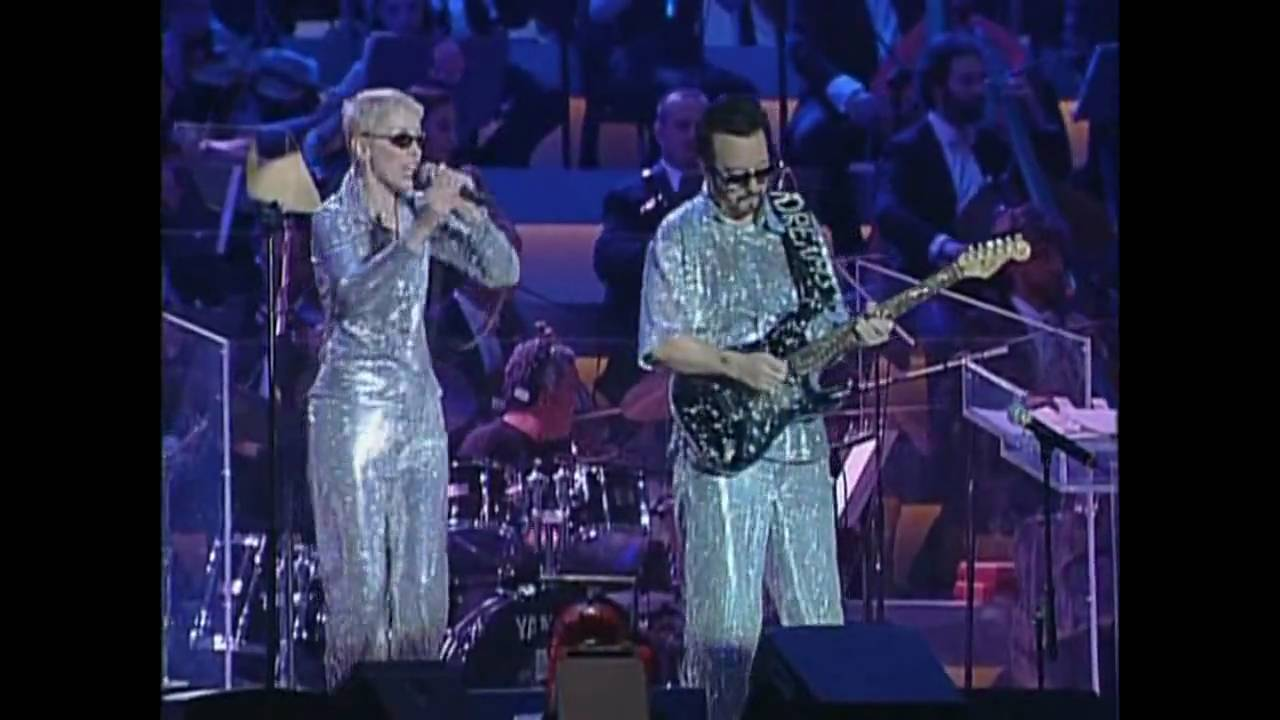 eurythmics  u0026 luciano pavarotti - there must be an angel  playing with my heart