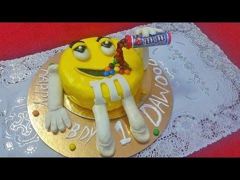 M&M Gravity Defying Cake Recipe#Kids Cake Recipe#How To Make Gravity Defying Cake