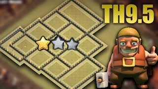 TH9.5 (TH10 No Inferno) War Base 2017 Anti 3 Star | Tested + Proof Replays | Clash Of Clans