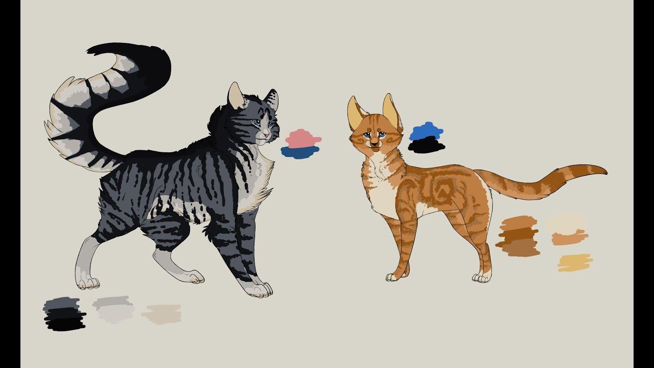 Timelapse- Warrior Cats OCs