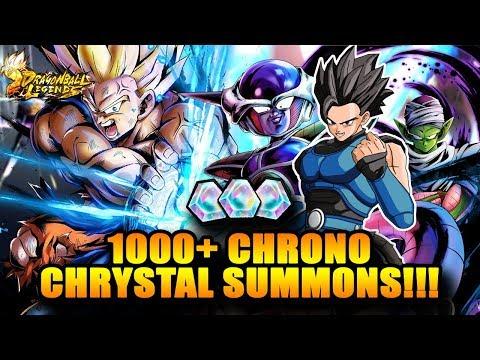 1000+ CHRONO CHRYSTAL SUMMONS ★ MY VERY FIRST DRAGON BALL LEGENDS SUMMONS