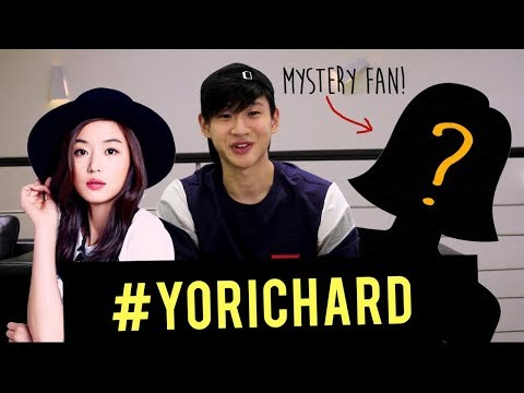 RICHARD JUAN DATES A FAN!!! #YoRichard