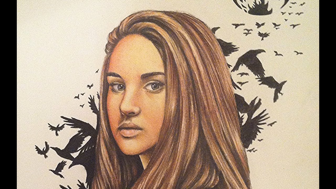 drawing tris from divergent youtube