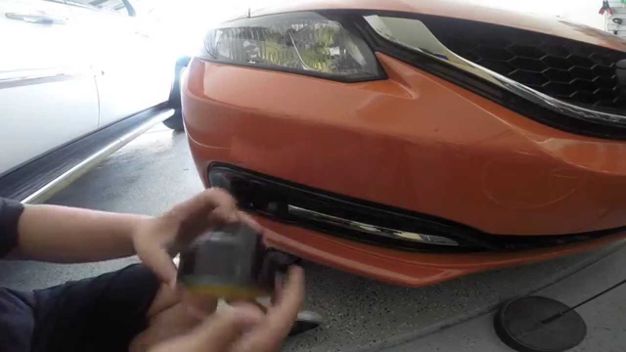 9Th Gen Accord >> How To: 9th Gen Civic Si Fog Light Removal - YouTube
