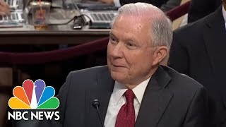 Tom Cotton To Jeff Sessions: Allegations More 'Ridiculous' Than Spy Fiction | NBC News Free HD Video