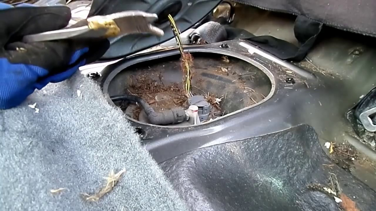 Honda Civic Fuel Pump Removal Youtube