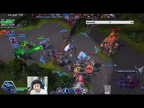 Maiev Cage On DShire - Cage Apoc Stukov Silence Combo - Grandmaster Storm League Game