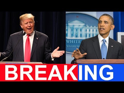 BREAKING: Trump Just Got BIG NEWS About Obama's Shadow Government Leakers