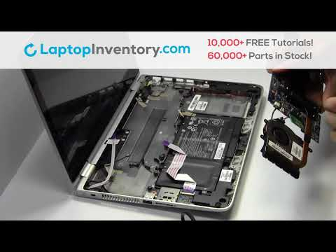 Repair HP Pavilion X360 13-A Laptop Motherboard and Fan, Dismantle 11-AB M1-U M3-U