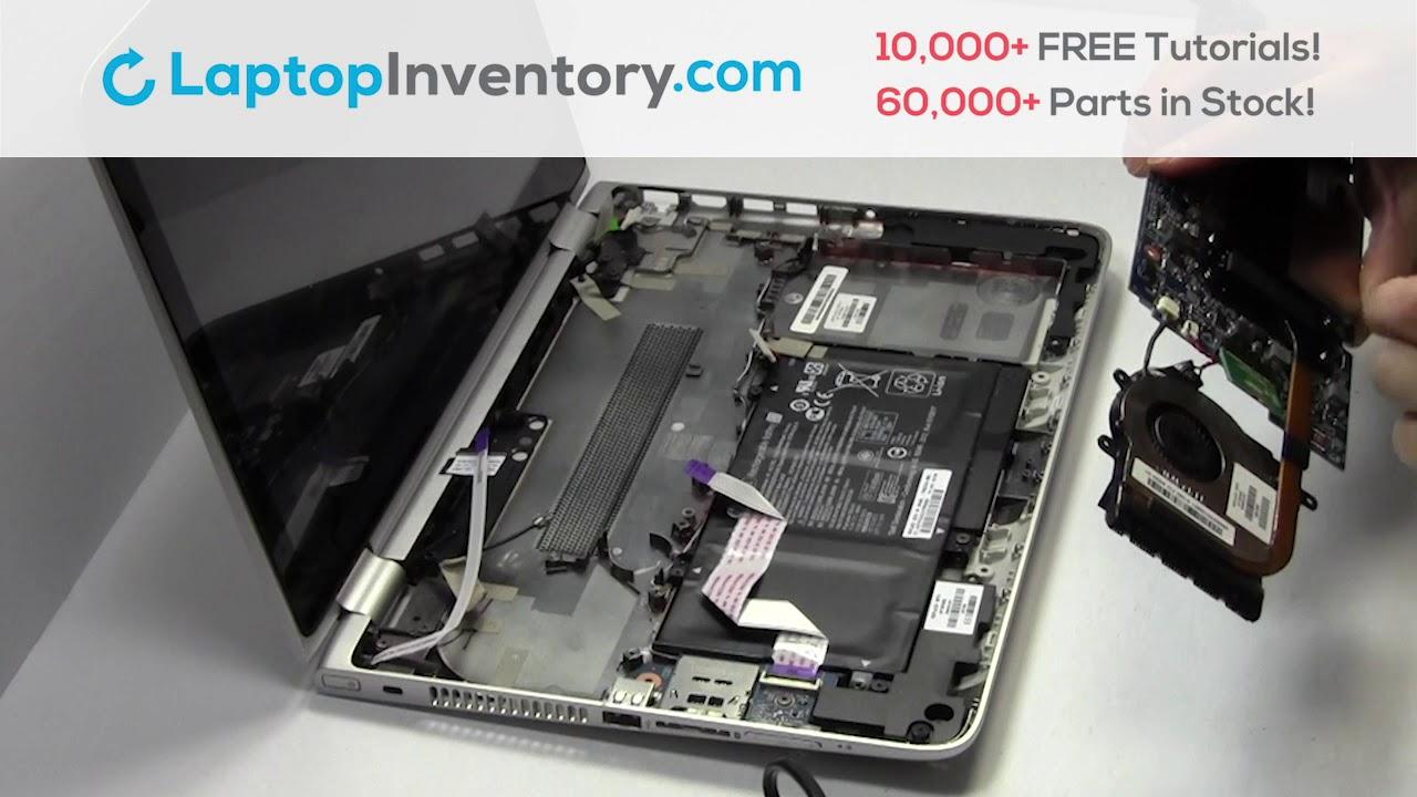 Repair HP Pavilion X360 13-A Laptop Motherboard and Fan, Dismantle 11-AB  M1-U M3-U