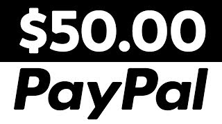 Earn $50 Paypal Money Fast Over & Over!  For Beginners!