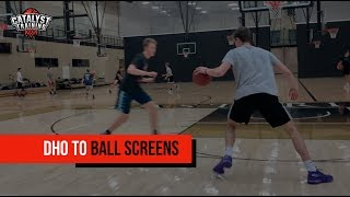 DHO to Ball Screen