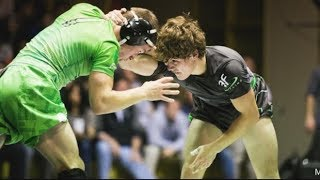 Nick Suriano vs. Daton Fix - The Longest Match In High School Wrestling (2014 Who's #1)