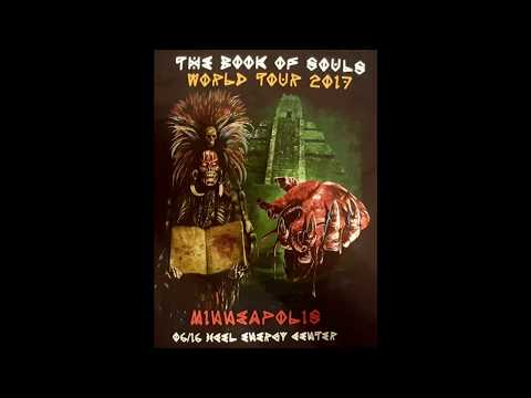 Iron Maiden (St. Paul Xcel Energy Center 6/16/2017) Book of Souls Tour full show HD