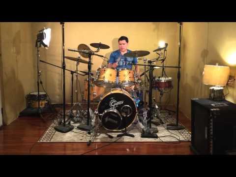 Carlos Omar  Cantante Catolico  toca la Bateria: Tutoriales proximamente!
