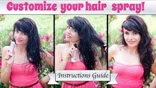 Leave in Hair Volumizing Spray or Frizz Free SPRAY: Instructions Guide Beautilicious Delights Thumbnail