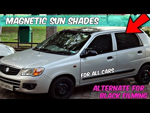 Magnetic Sun Shades - Alternate For Car Window Filming(PRIVACY SHADES)