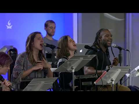 Revelation 1:17-18 // Jaye Thomas, Laura Hackett Park, Olivia Buckles, Erica Ketchum // Prayer Room