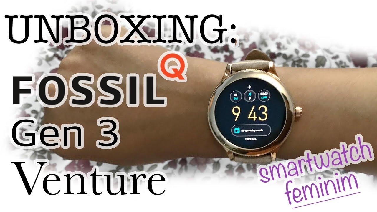 UNBOXING: Smartwatch Fossil Q Gen 3 Venture (Bahasa Indonesia)