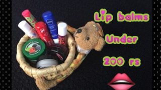 💋My lip balm collection💋 | under rs 200