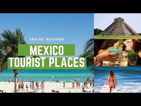 MEXICO - Top10 tourist attractions that you MUST SEE |HD