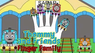 Thomas and Friends finger family | Happy Kids Song
