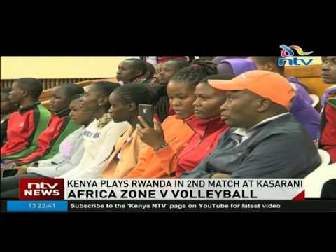 Kenya plays Rwanda in second match in Africa Zone five volleyball