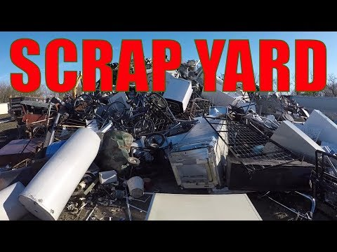 Scrap Yard Metal Recycling - A Nice Side Job