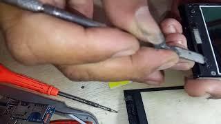 Cara buka+pasang touchscreen evercos A7B